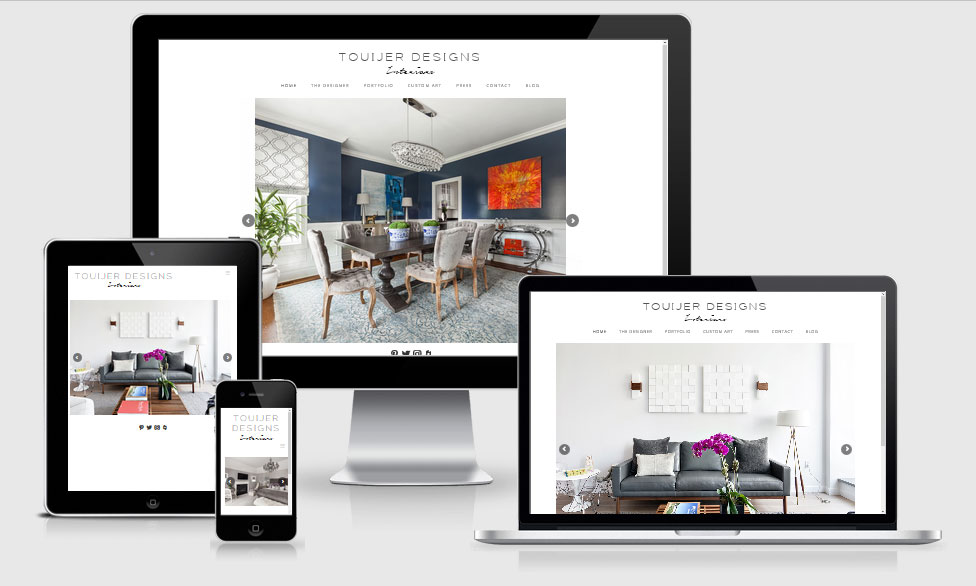 Touijer Design Website